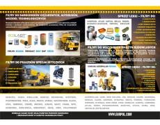 Filtry do maszyn budowlanych