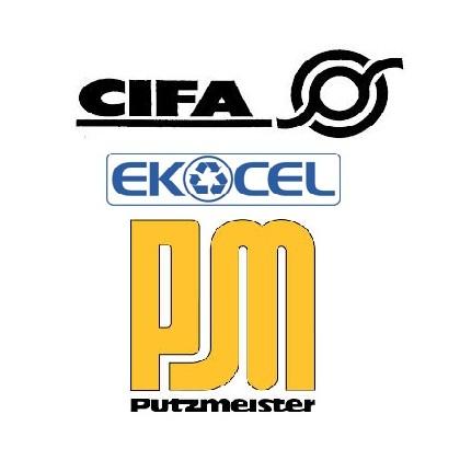 FILTRY - EKOCEL HDS CIFA PUTZMEISTER SCHWING
