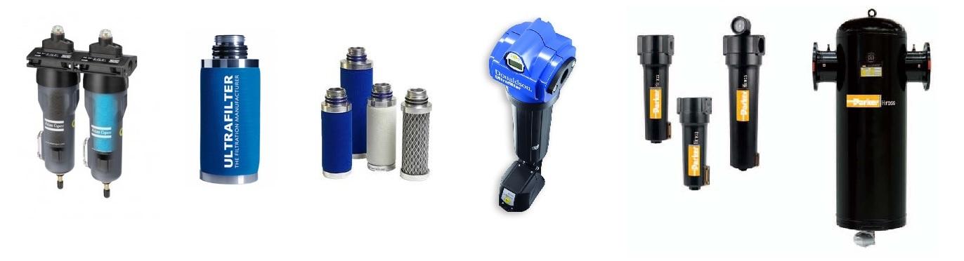 Filtry sprężonego powietrza, wkłady sprężonego powietrza, filtry sieciowe, filtry atlas copco, filtry hiross, filtry kaeser, filtry parker - EurPol