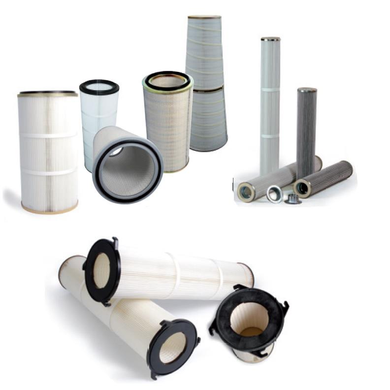 filtry patronowe, komór odpylających, śrutownic, filtry do wycinarek laserowych, wycinarek plazmowych, filtry do turbin gazowych - EurPol